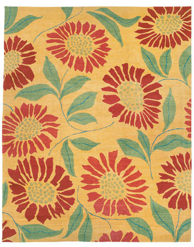 Tufenkian Kotana Flower Power Sunshine Area Rug