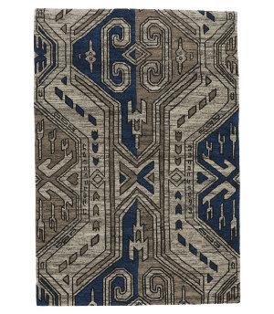 Tufenkian Tibetan Blue 4' x 6' Rug
