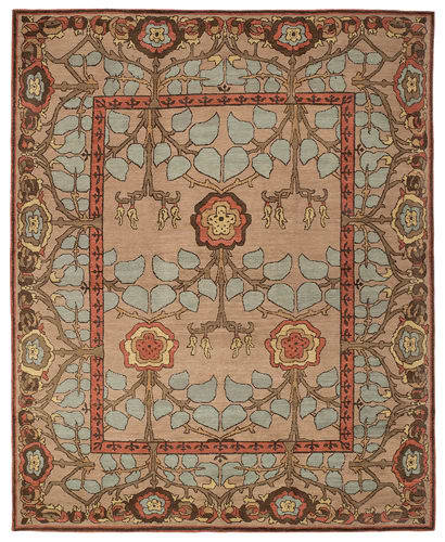 Tufenkian Kotana Inverness Blue Quartz Area Rug