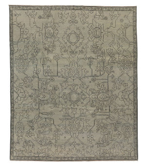 Tufenkian Knotted Gray 8' x 10' Rug