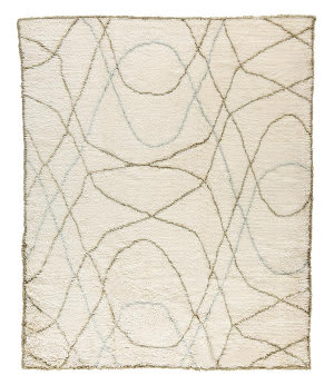 Tufenkian Knotted Sage 8' x 10' Rug