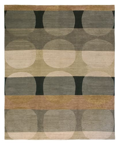 Tufenkian Kotana Total Eclipse Grey Tone Area Rug