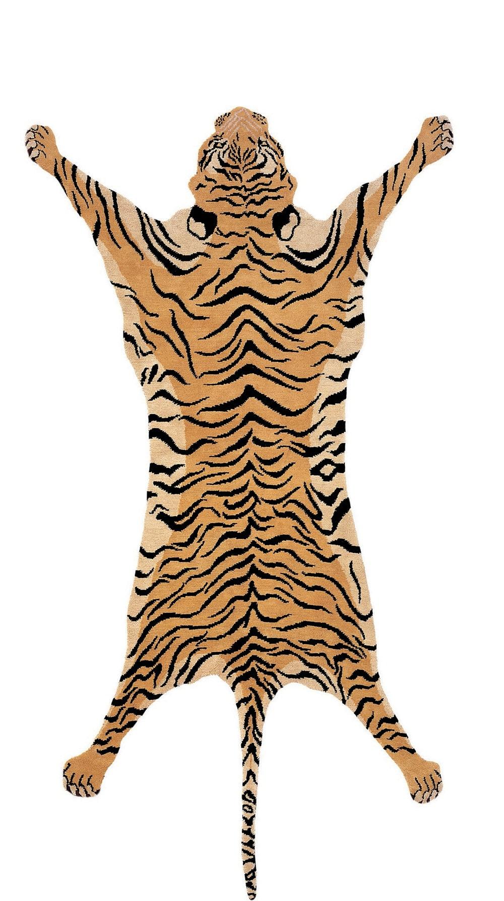 Tufenkian Shakti Tiger Gladys Black Rug Studio