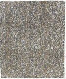 Tufenkian Tibetan Sequins Nickel - Gold Area Rug