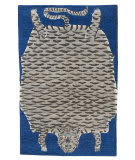 Tufenkian Tibetan Tiger Big Blue Area Rug