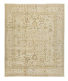Tufenkian Knotted White 8' x 10' Rug