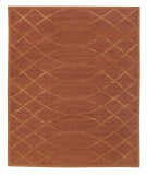 Tufenkian Tibetan Arching Lattice Auburn Area Rug