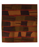 Tufenkian Tibetan Taba Red Curry Area Rug