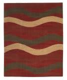 Tufenkian Tibetan Slow Wave Flame Area Rug
