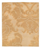 Tufenkian Tibetan Implied Damask Golden Apricot Area Rug