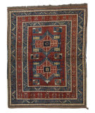 Tufenkian Knotted Dark Coral 6' x 7' Rug