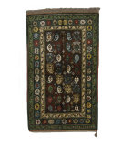 Tufenkian Knotted Brown/Green 4' x 5' Rug