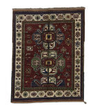 Tufenkian Knotted Kazak V Red Area Rug