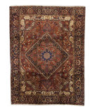 Tufenkian Heriz Semi-Antique Persian 3 Area Rug