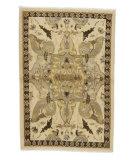 Tufenkian Tibetan Ivory/Beige 4' x 6' Rug
