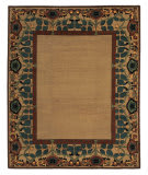 Tufenkian Tibetan Inverness Border Tiffany Area Rug