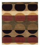 Tufenkian Tibetan Total Eclipse Orchard Area Rug