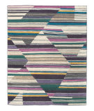 Tufenkian Tibetan Abstract Fall Color By Laura Kirar  Area Rug