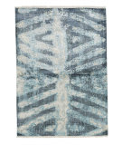 Tufenkian Knotted Blue 4' x 6' Rug