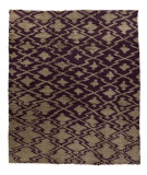 Tufenkian Knotted Deep Purple 8' x 10' Rug