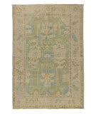 Tufenkian Knotted Beige - Green 6' x 9' Rug