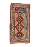 Tufenkian Knotted Antique Armenian Kazak  Area Rug