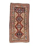 Tufenkian Knotted Antique Armenian Kazak  Area Rug