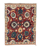 Tufenkian Knotted T37 Red 6' x 7' Rug
