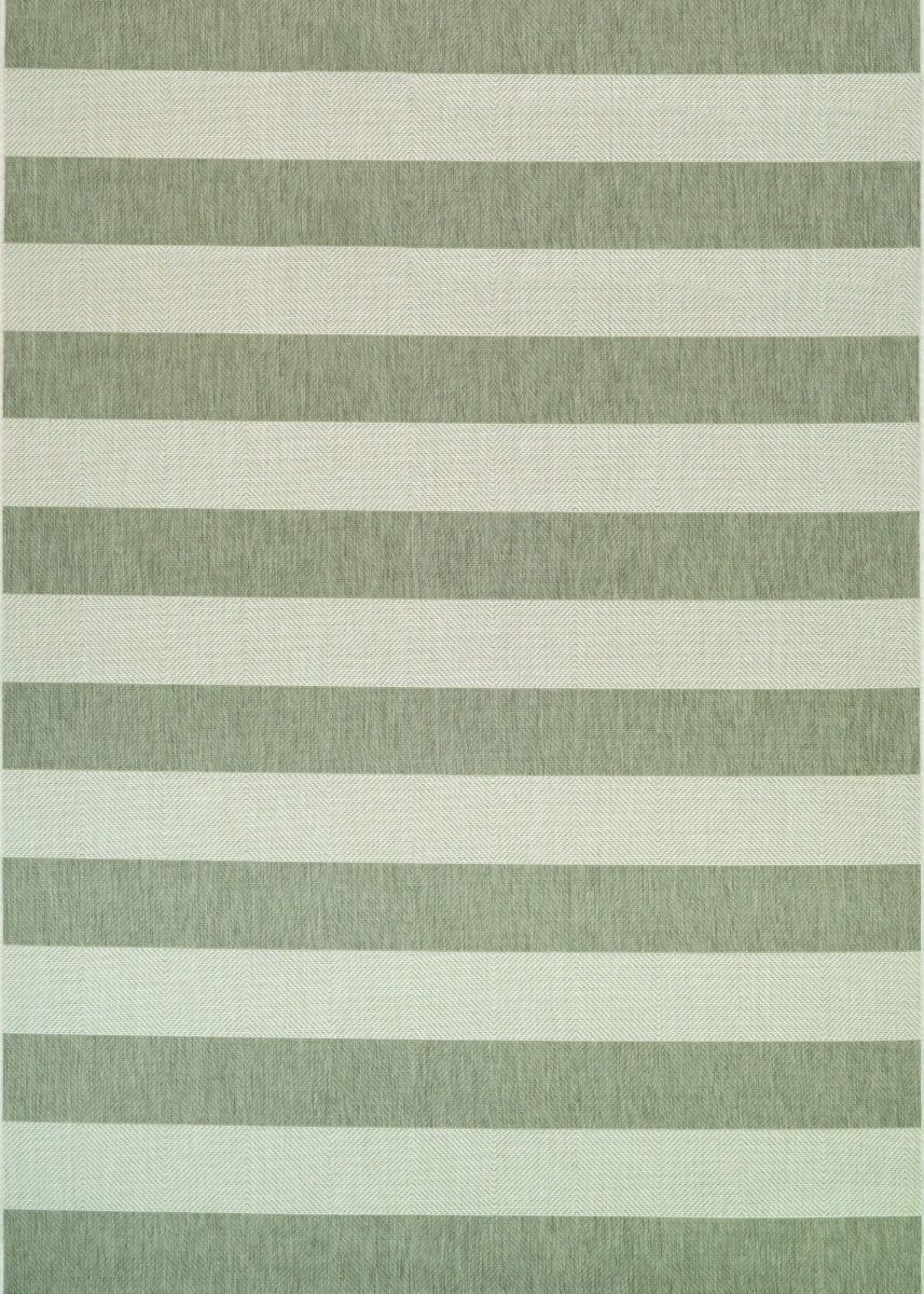 Couristan Afuera Yacht Club Tan Ivory Area Rug 172381