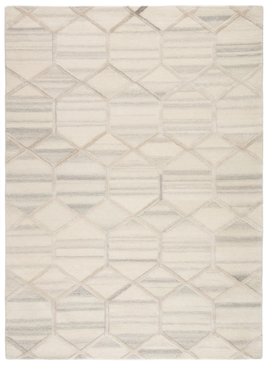 Jaipur Living City Cleveland Ct105 Cream Gray Rug Studio
