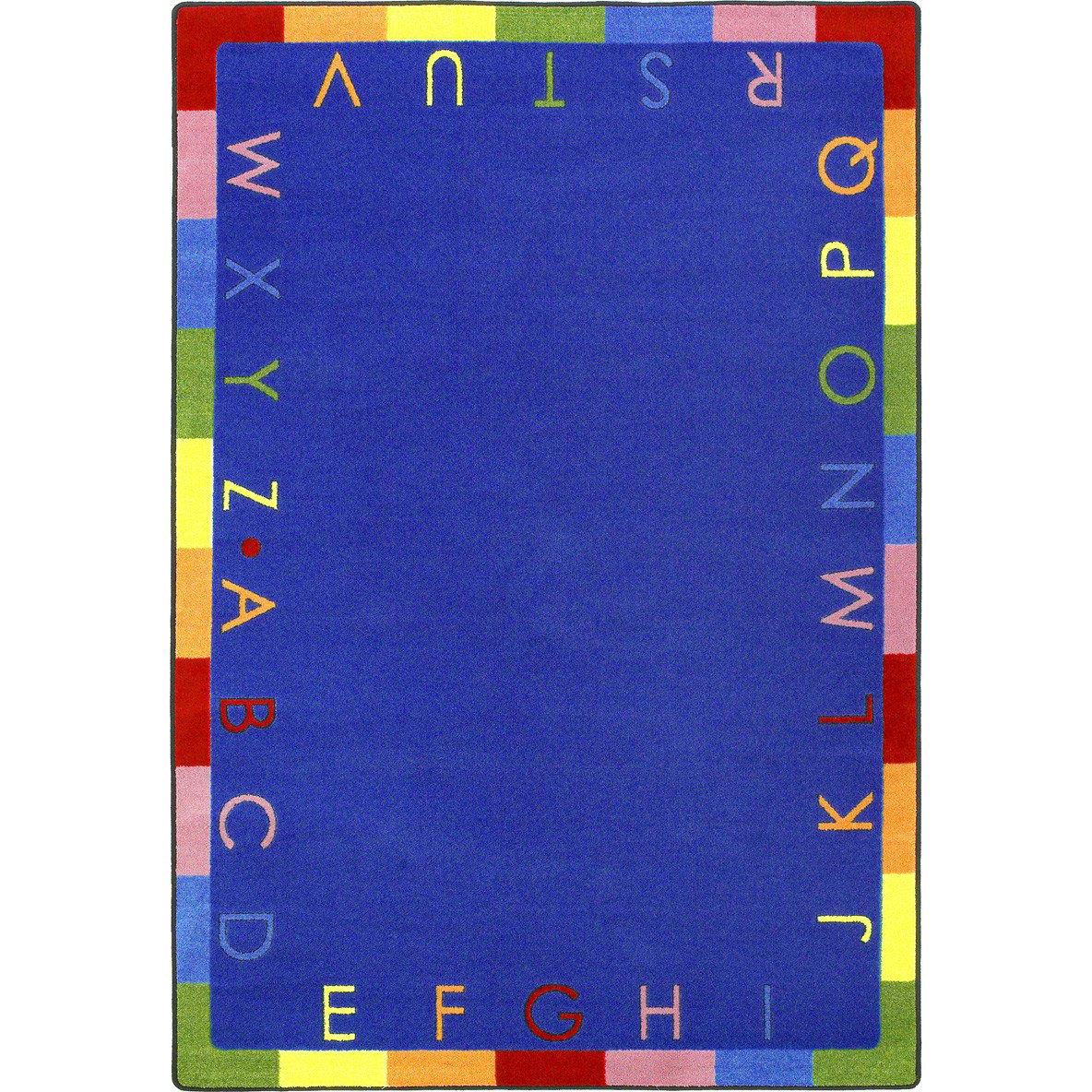 Joy Carpets Kid Essentials Rainbow Alphabet Bold Rug Studio