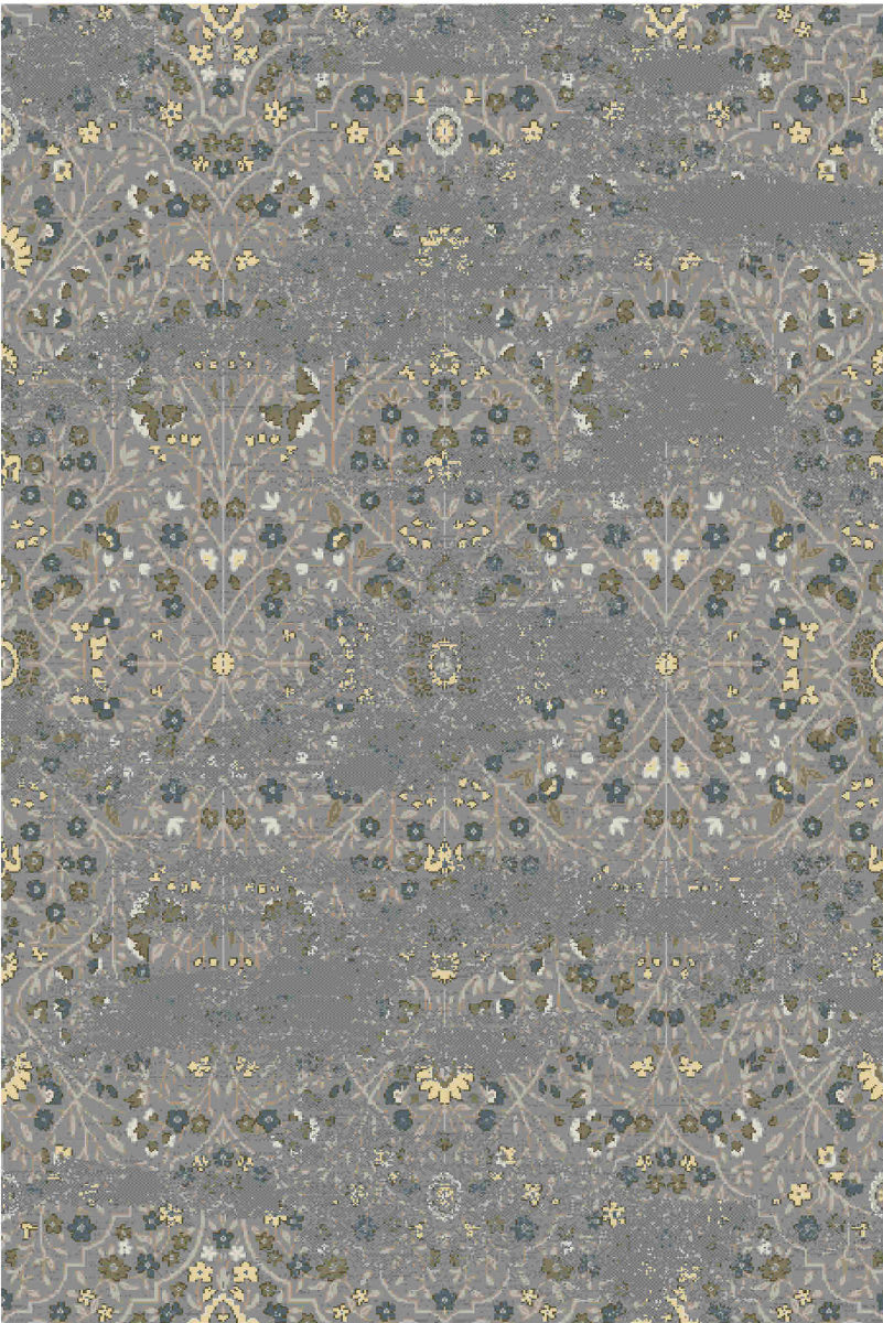 Karastan Touchstone Eme Willow Gray Rug Studio