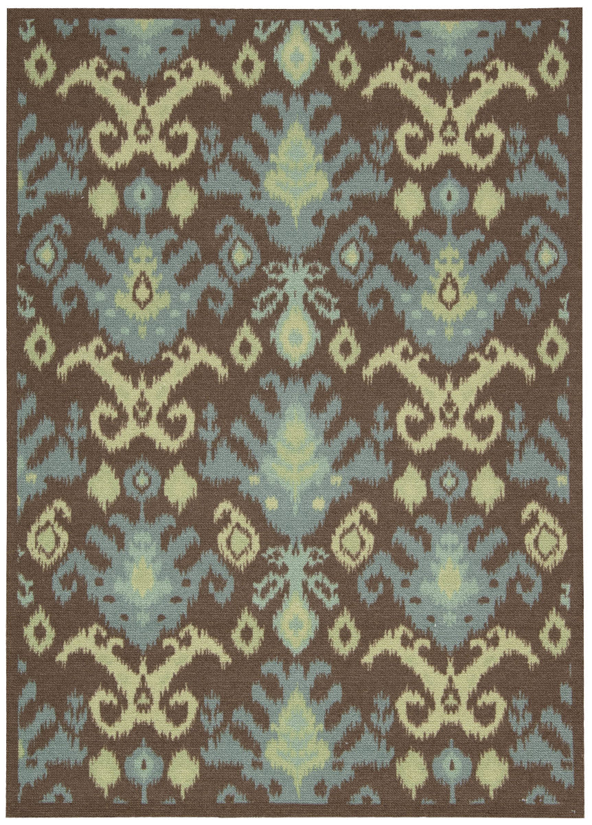 Nourison Vista Vis 20 Chocolate Rug Studio