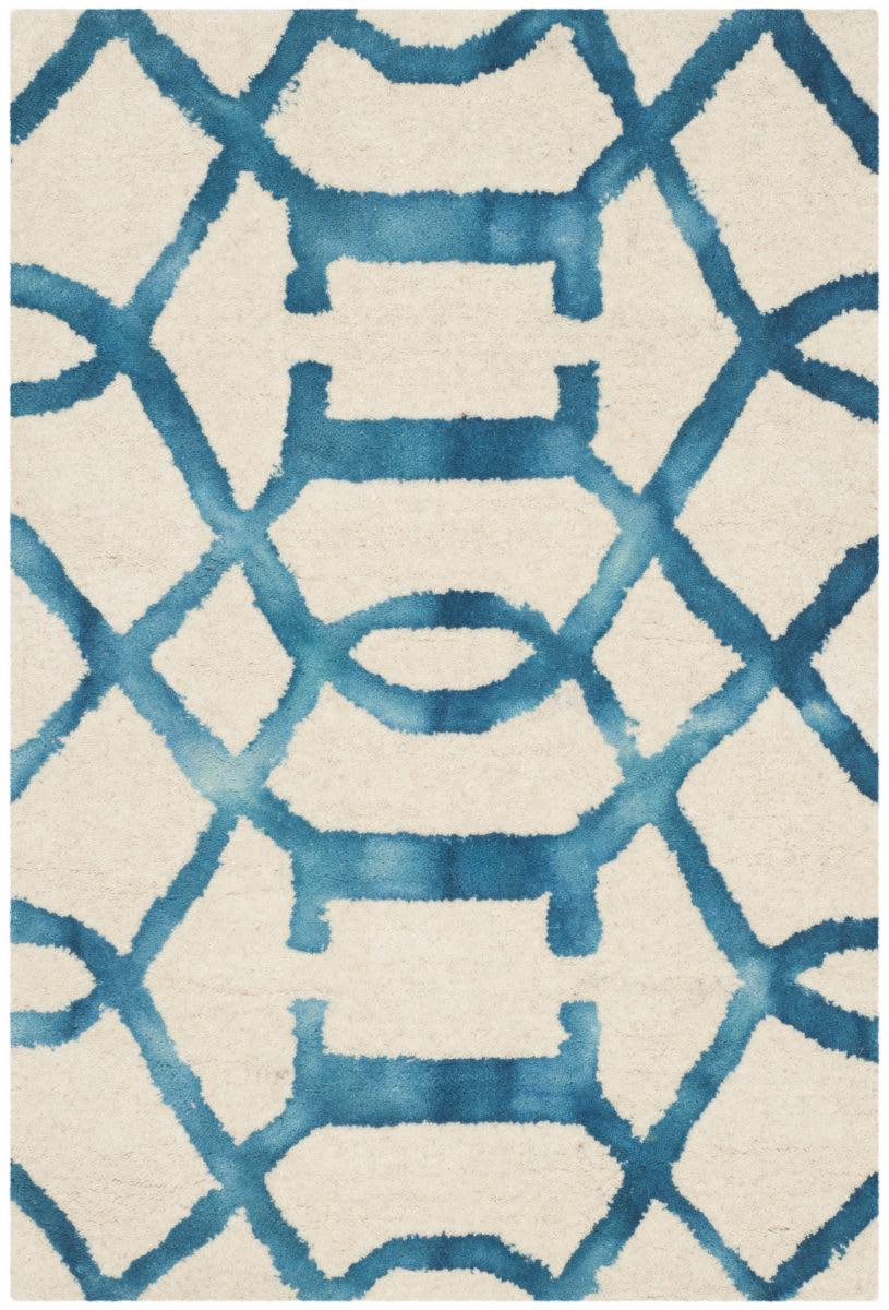 Safavieh Dip Dye Ddy712h Ivory Turquoise Rug Studio