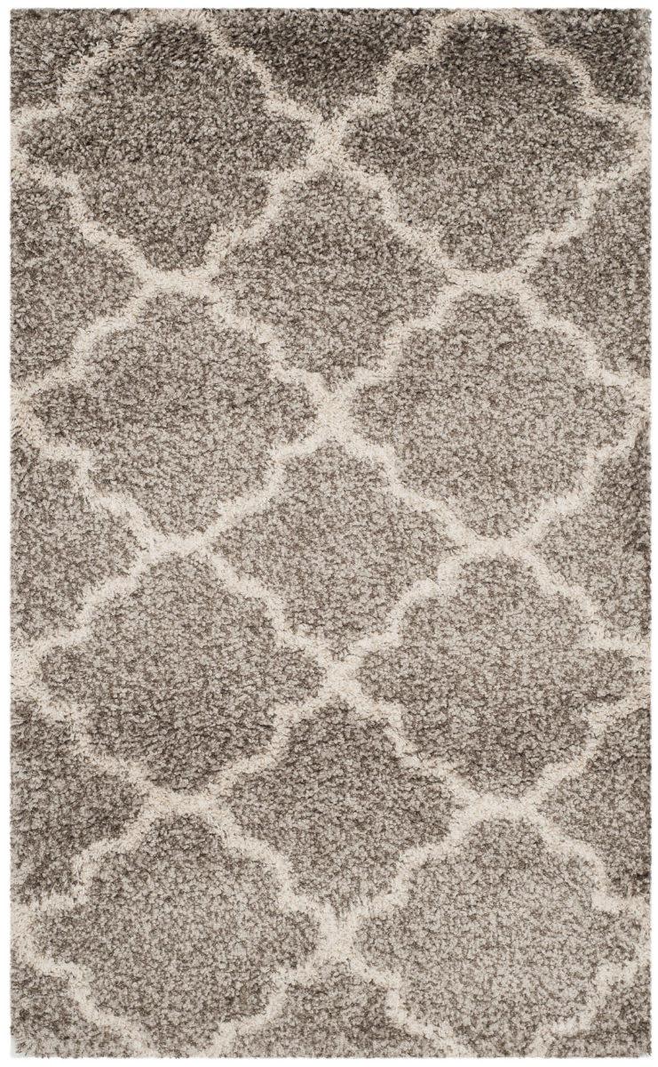 Safavieh Hudson Shag Sgh282b Grey Ivory Area Rug 155357