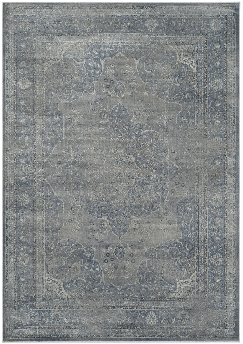 Safavieh Vintage Vtg158 Light Blue Light Grey Area Rug