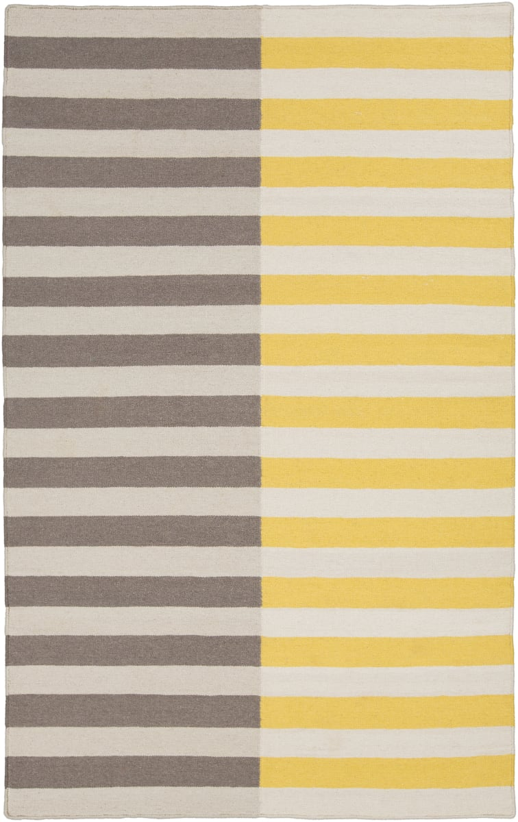 Surya Frontier Ft 563 Gray Yellow Area Rug Clearance 106399