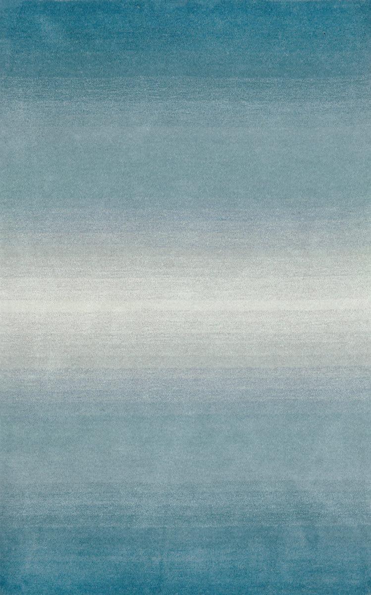Trans Ocean Ombre Horizon 966304 Aqua Rug Studio