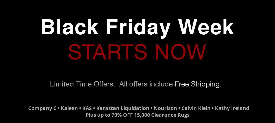 Black Friday Sale at RugStudio