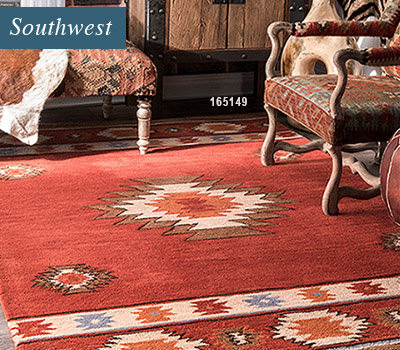 Tribal and Southwest Style Rugs