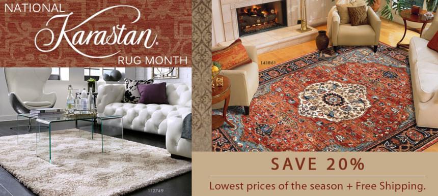National Karastan Rug Month - Save 20%