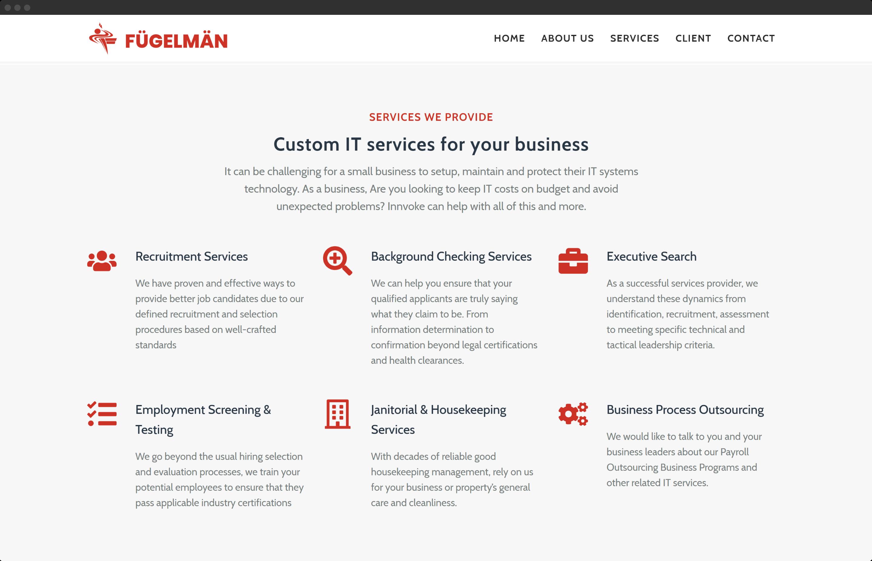 Fugelman Web