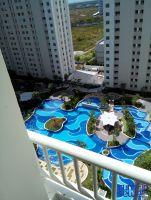 Disewakan Apartemen EDUCITY Surabaya Tower Termewah..Full Furnish, Ac, Kitchen, Lemari, Sofa -> Pool view