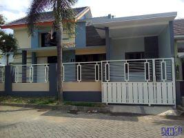 Disewakan RUMAH Hook di Green Living Residence, Malang -> Tampak Depan
