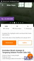 Disewakan Rumah Strategis Dekat Simpang Gaplek, Pondok Cabe Udik Tangerang Selatan ->