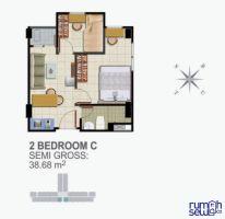 Apartemen 2BR Full Furnished -> Denah Layout