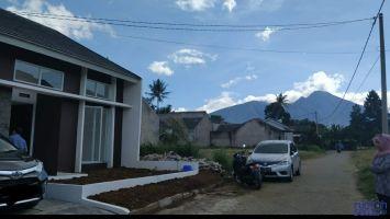 DISEWAKAN Rumah Tipe 70 di Ciomas Hills, Bogor -> Pemandangan Gunung Salak