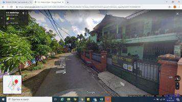 MURAH !! Rumah Sewa di Jalan Utama 4 Kamar Tidur, 2 Lantai -> Posisi di Jalan Utama