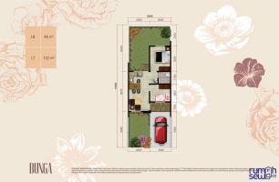 Dijual Murah Rumah Suvarna Sutera Cluster Bianca Tipe Bunga ->
