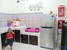 Rumah Dikontrakan Dekat Exit Tol Pakis Malang -> dapur set + kompor